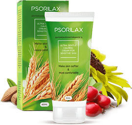 Psorilax - has a natural composition